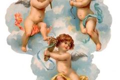 Ангелы, фрески, картины, религия