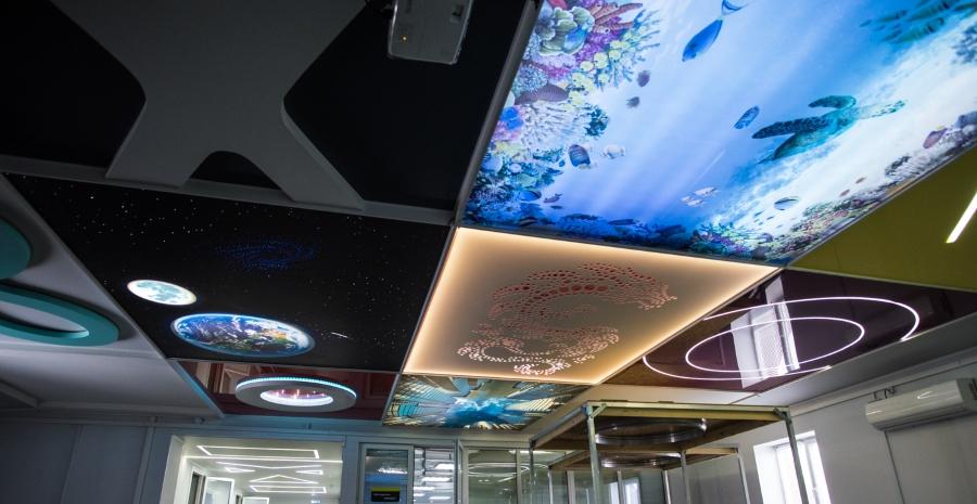 Открытие шоурума натяжных потолков в Астрахани