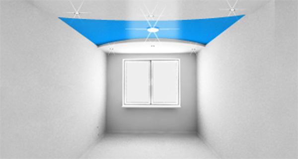 Двухуровневые натяжные потолки в Астрахани - РСС Элит
