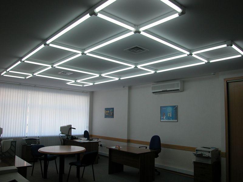 Натяжные потолки с LED подсветкой в Астрахани - РСС Элит