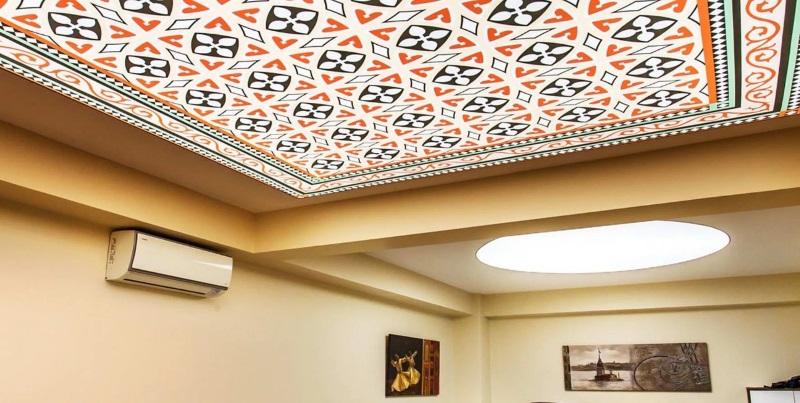 Натяжные потолки 3D в Астрахани - РСС Элит