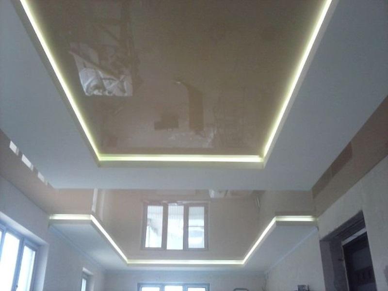 Натяжные потолки на кухне в Астрахани - РСС Элит