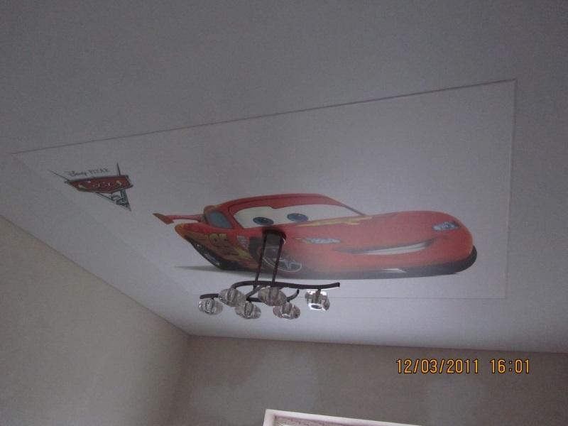 Натяжные потолки в детской комнате в Астрахани - РСС Элит