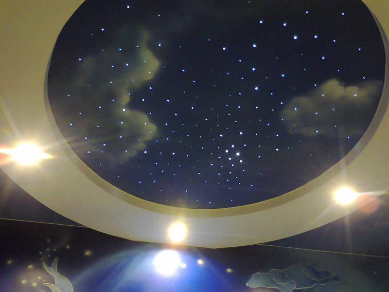 Натяжные потолки «Звёздное небо» в Астрахани - РСС Элит