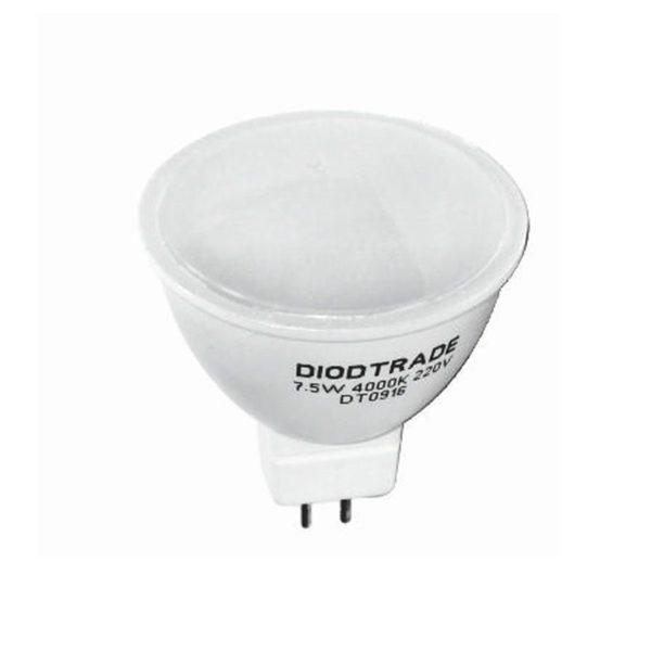 Светодиодная лампа DiodTrade GU 5.3, 7.5W