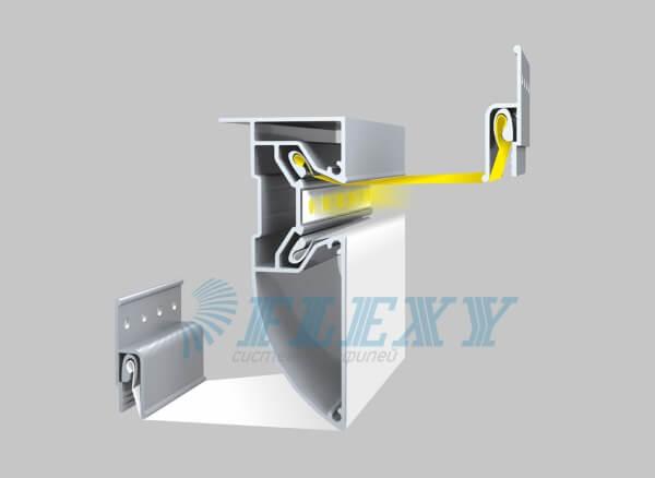 Профиль FLEXY для двухуровневых натяжных потолков