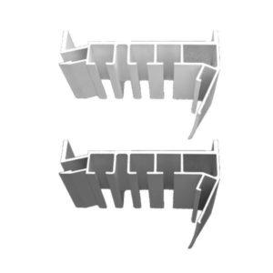 Багет AL ПК-5 3-х рядная Гардина